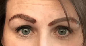 mismatched brows example