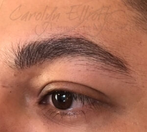 After -Male Hair-stroke Brows