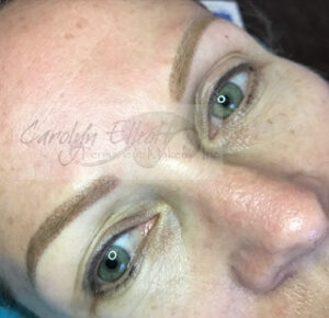 After Ombré Eyebrows (over previous work)