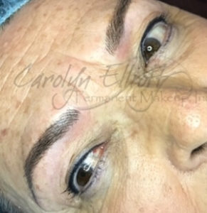 Shaded Hair-stroke Brow - After 18-month touch up